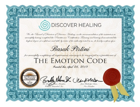Emotion code Başak Pirtini