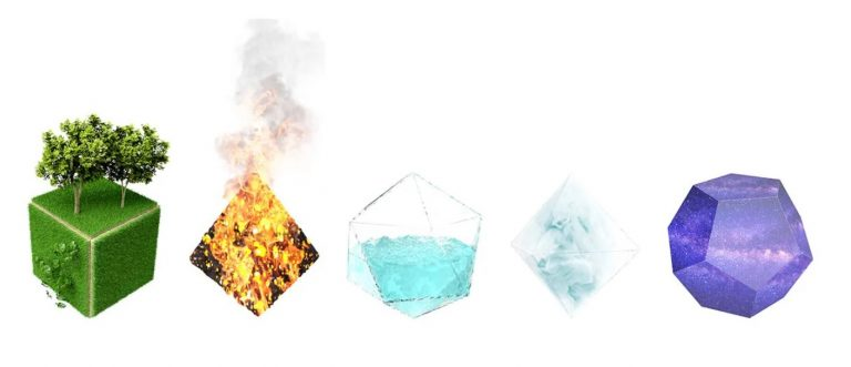 5 elements sacred geometry